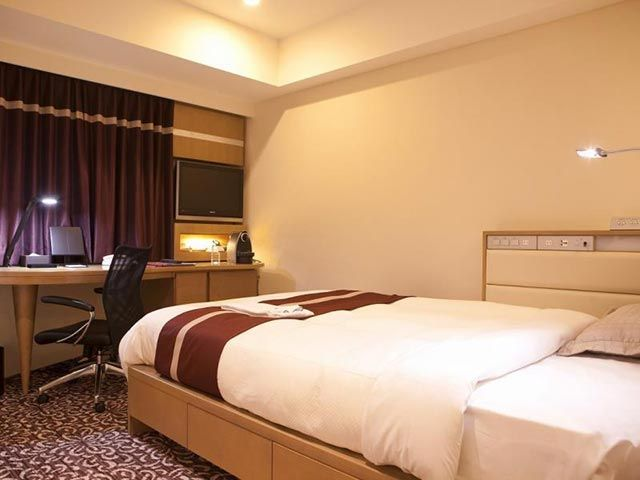 Hotel Ryumeikan Semi Double Comfort Sleep Room (19sqm) ~USD170/night | Photo Credit: Agoda | Near Tokyo Station