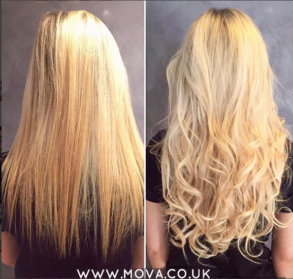 Easilocks Hair Extensions Before & After by Alice of MOVA