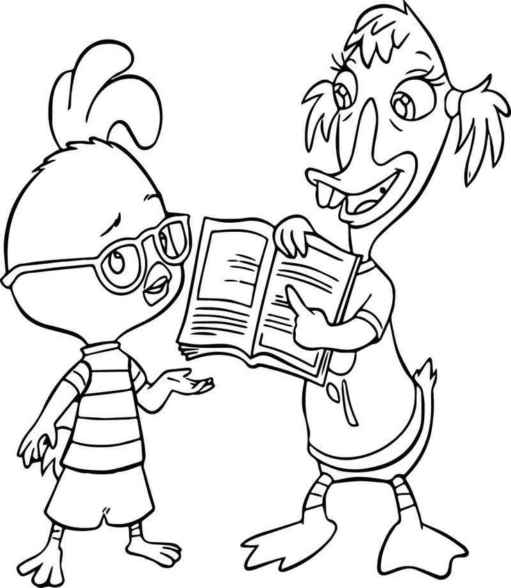 39+ Chicken little coloring pages info