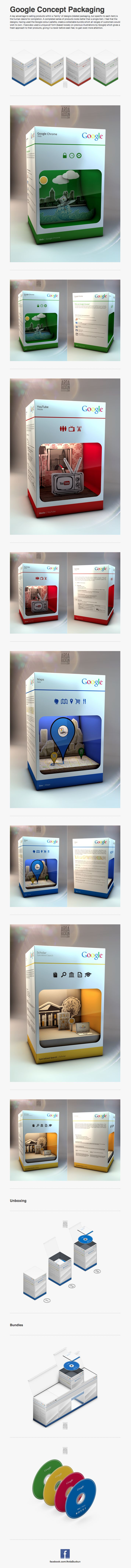 Google Concept Packaging