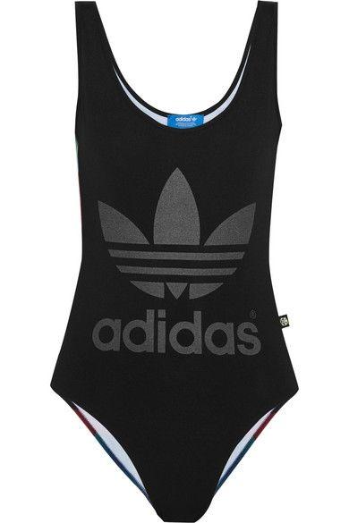 Adidas Originals + Rita Ora O-Ray printed stretch bodysuit #AdidasOriginals #NETASPORTER