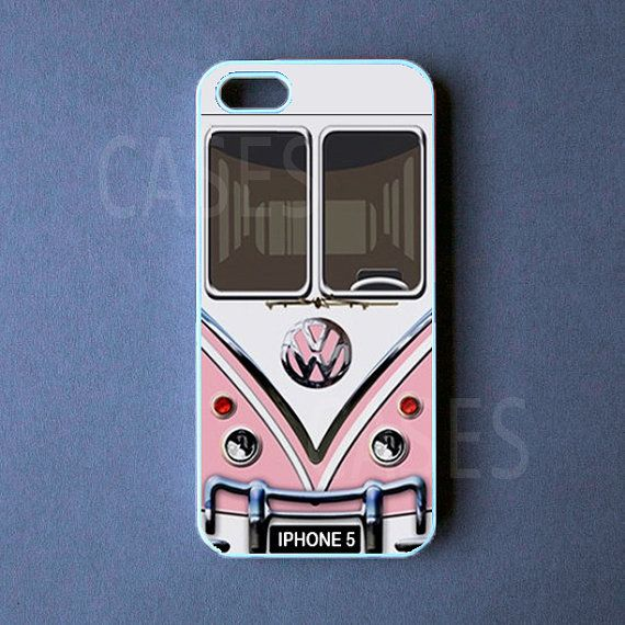 Iphone 5 Case  VW Mini Bus Pink Iphone 5 Cover by DzinerCase, $14.99