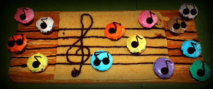 Brithday cake for my musician