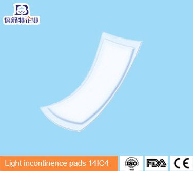 Light incontinence pads 14IC4