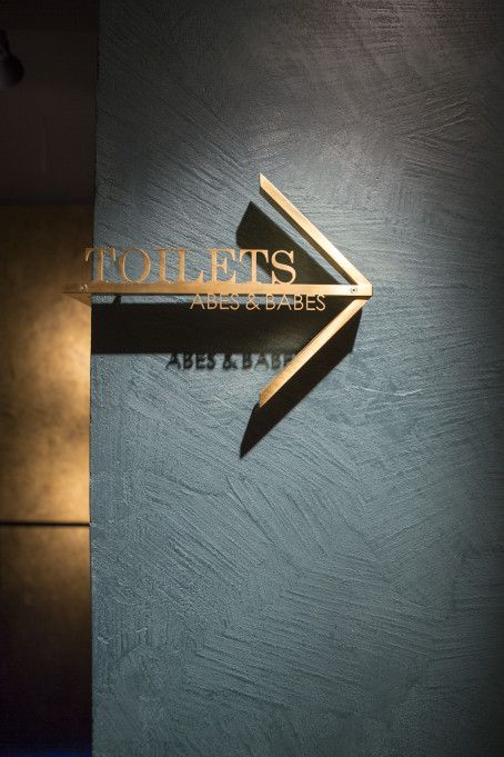 signage | Abe, club & lounge
