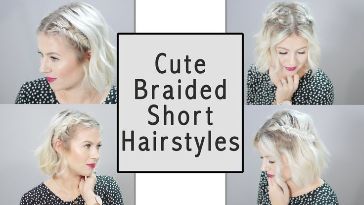 Hairstyles For Short Hair Milabu : 1000+ images about My Style - Hair on Pinterest How to braid, Updo ...