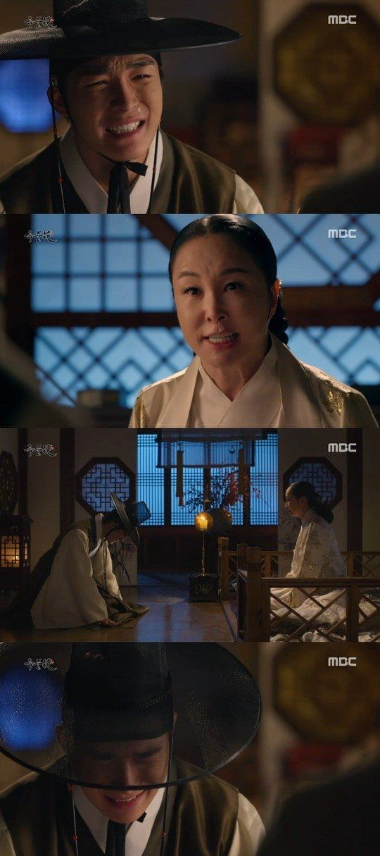 "[Spoiler] ""The Flower in Prison"" Seo Ha-joon cries to stop Kim Mi-sook from killing"