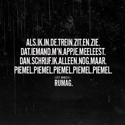 PIEMEL. #RUMAG