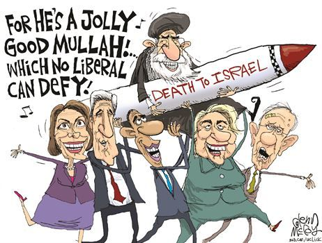 Image result for image of disparaging caricature of Democratic leaders