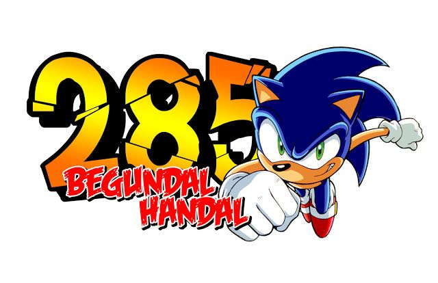 Stiker Sonic Racing by begundal handal