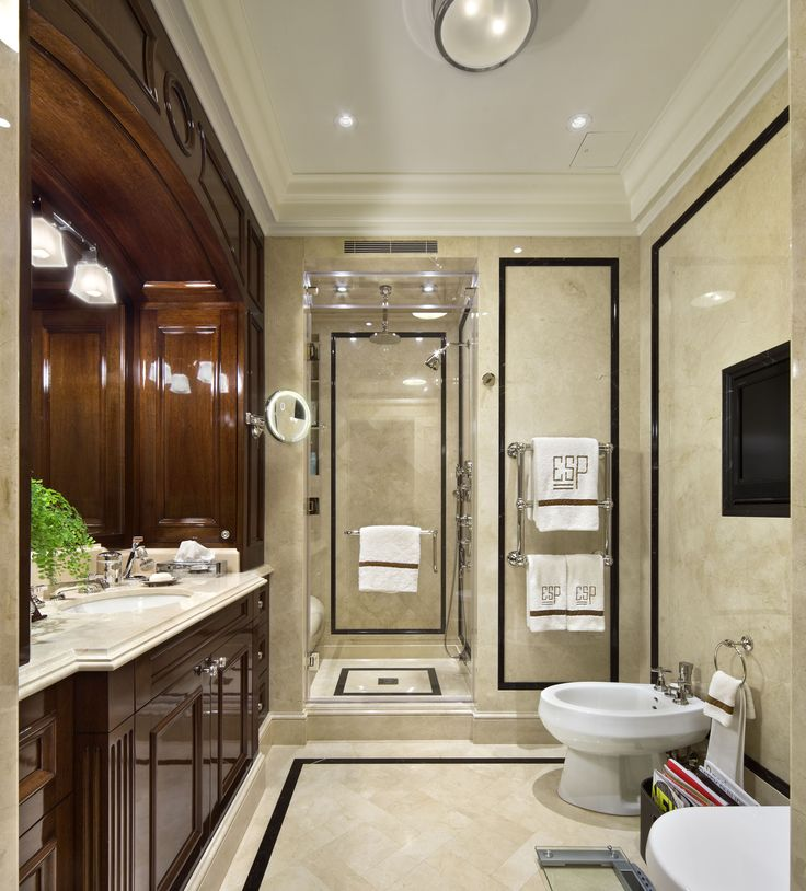Manhattan Man 39 S Bathroom By Robert A M Stern Architects Llp Master Bathrooms Pinterest