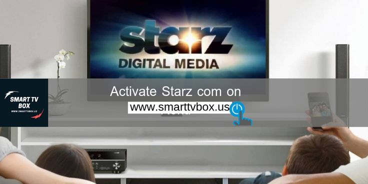 Activating Starz on Roku using via