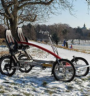 metallhase stadtfahrrad vierrad tandem fahrrad tandem bicycle with 4 wheels tandem fahrrad. Black Bedroom Furniture Sets. Home Design Ideas