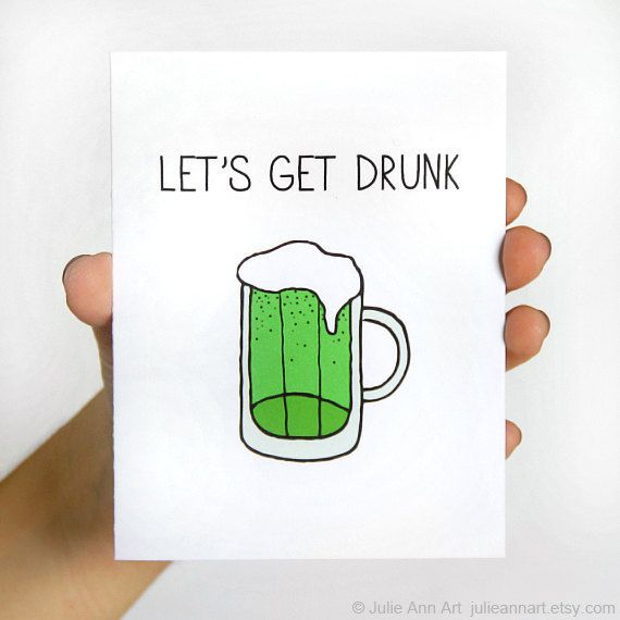 Hey, I found this really awesome Etsy listing at https://www.etsy.com/listing/122996661/st-patricks-day-card-green-beer-card