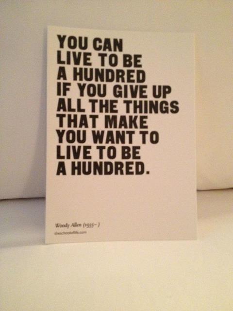 Instead of a mint, words on a pillow @ the Clift Hotel SF. / En lugar de chocolatinas en la almohada....