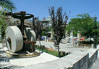 Kalives Village square