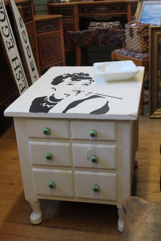 Audrey Hepburn Painted End Tables U2014 Best Offer $275
