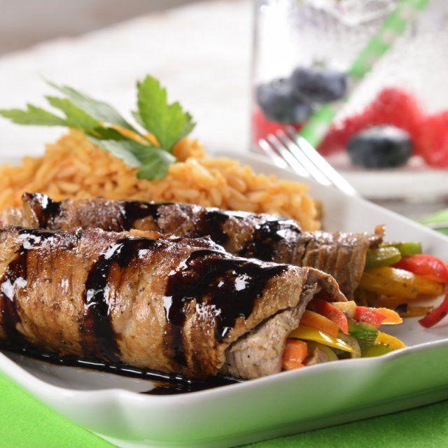 Rollitos de Carne con Balsámico