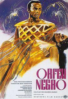 """#Orfeu_Negro /  Bossa Nova    """"Den weltweiten Durchbruch erzielte die Musik mit der Verfilmung Orfeu Negro von Marcel Camus (entstanden 1958 bis 1959). Die Orpheus-Sage findet dort vor dem Hintergrund des brasilianischen Karnevals statt. """""""