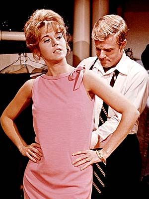 one of my favorite movies/plays of all time (barefoot in the park) she wears pink so well :)