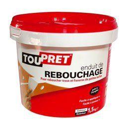 ENDUIT REBOUCHAGE PATE TOUPRET0.5KGGSA