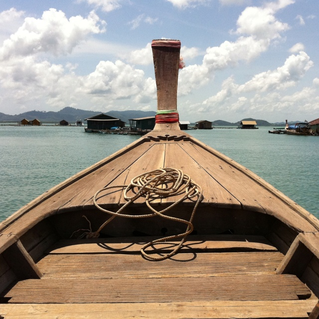 On the boat in Phuket