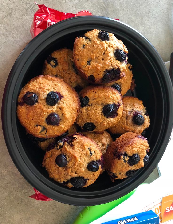 Blueberry Oatmeal Muffins Recipe Genius Kitchen