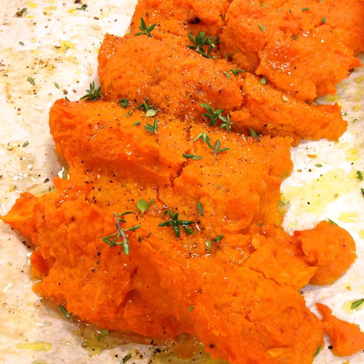 Roasted Carrot & Apple Purée ~ a wonderful side dish to serve with autumn and winter meals.