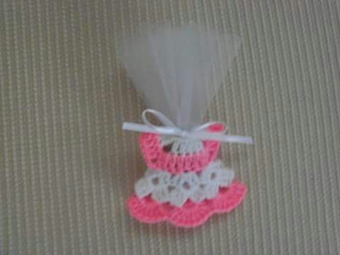 Minik elbise bebek şekeri