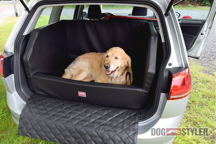 DOGSTYLER Hund sicher sauber im Auto - Instead of a dog transport crate: The convenient, bespoke solution for your car boot. The DOG CAR BED from DOGSTYLER