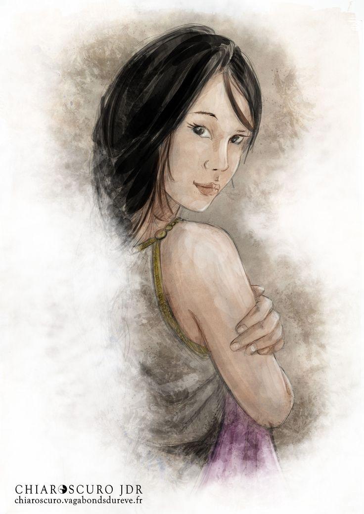 """Leto D'Ambrosia, princesse impériale, alias """"le petit monstre""""."""