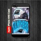 Carolina Panthers iPhone 4 Case Black Option White Available #iPhone4 #iPhone4 #PhoneCase #iPhone4Case #iPhone4Case