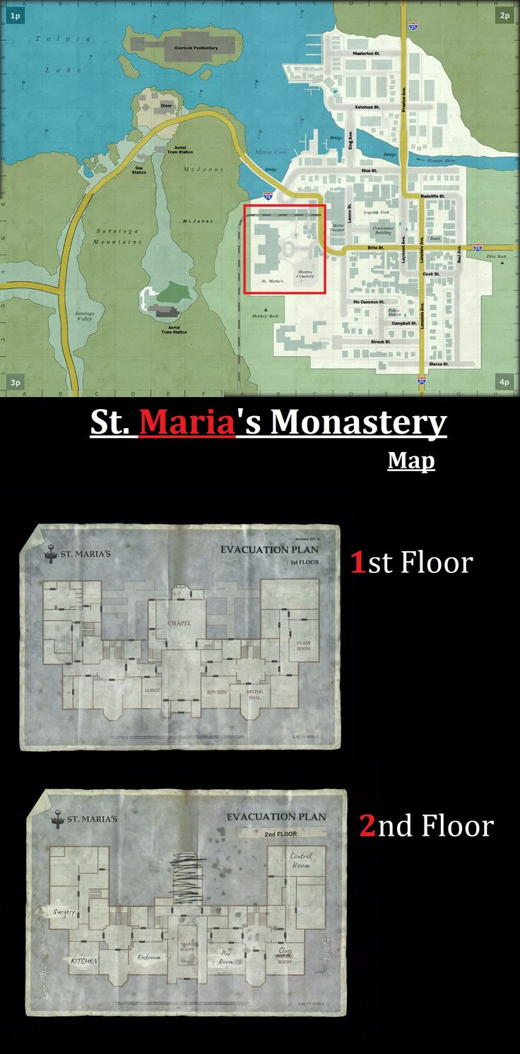 Silent Hill Downpour - Maps - St. Maria's Monastery