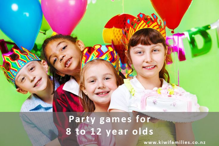 7 Great Party Games For 8 To 12 Year Olds Birthday Party