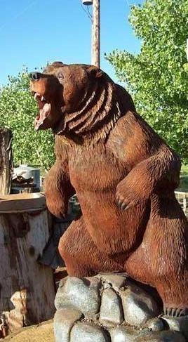 Chainsaw Beaver Carvings for Sale | Chainsaw Wood Carvings Of Animals