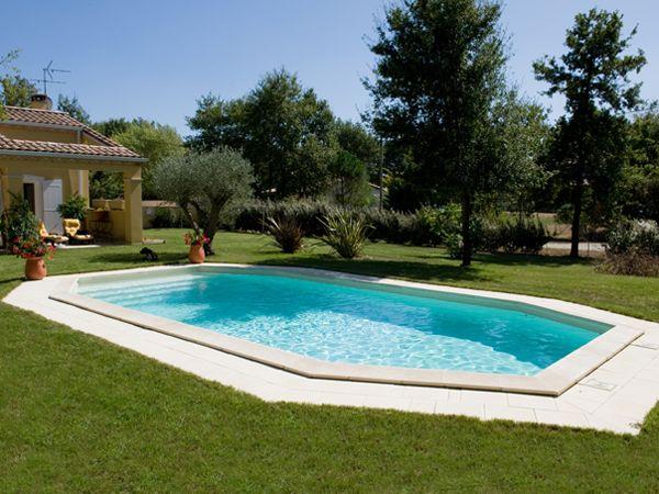 13 best Piscines à formes libres images on Pinterest Swimming - construire sa piscine beton