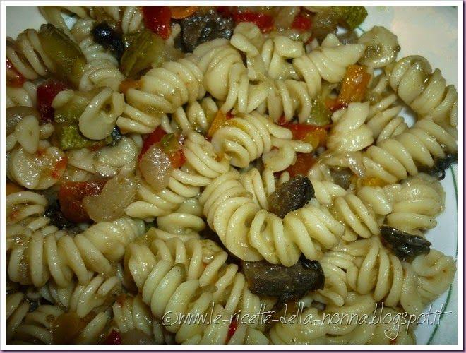 Le Ricette della Nonna: Fusilli con ragù fresco di verdure estive