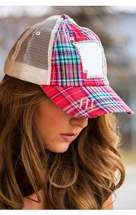 Arkansas Plaid Hat