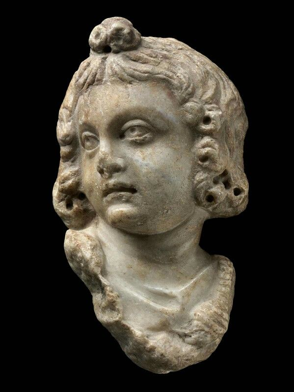 Stone fragment of a statue of Eros. Greek. Hellenistic or Greco-Roman Period. | Museum of Fine Arts, Boston
