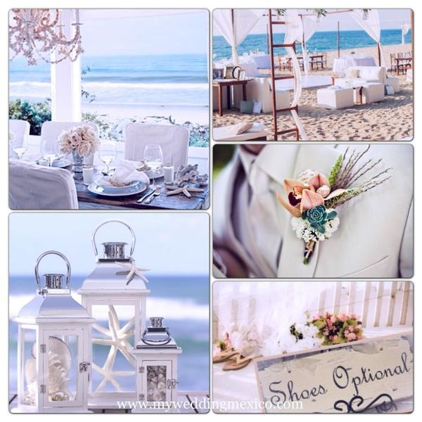 Fresh & original Riviera Maya wedding inspiration... 2013 bring it on!