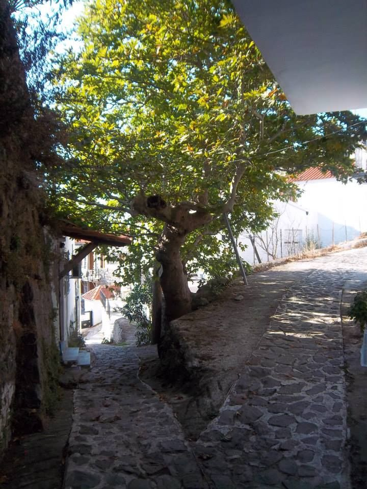 picturesque Chora (main village of the island), Samothrace