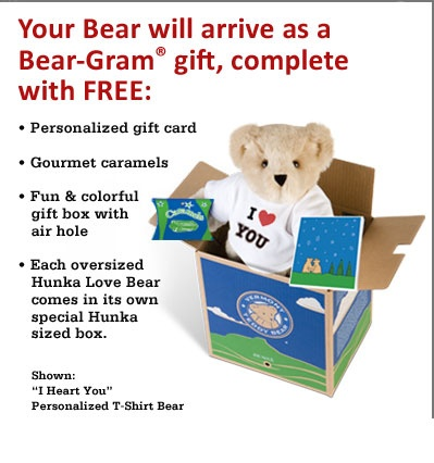 The 25 best personalized teddy bears ideas on pinterest memory birthday gifts get well gift ideas new baby gifts american made personalized teddy negle Image collections