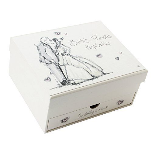 Tracey Russell Coffee  Cream Brides Keepsakes Box  Price : £15.49 http://www.bronzebarngallery.com/Tracey-Russell-Coffee-Brides-Keepsakes/dp/B00M3498ZE