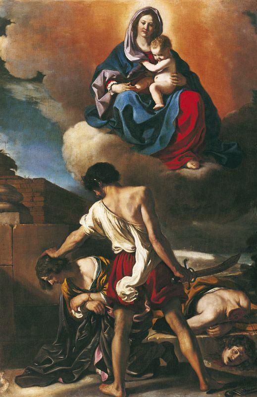 The Athenaeum - The Martyrdom of Saints John and Paul (Giovanni Francesco Barbieri - )