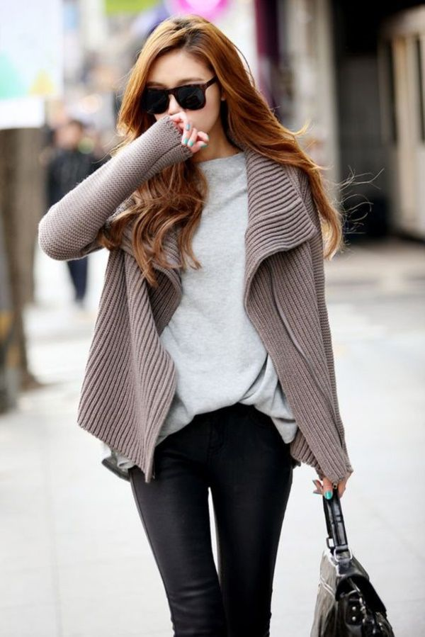 Simple and Sexy Korean Fashion Looks0251