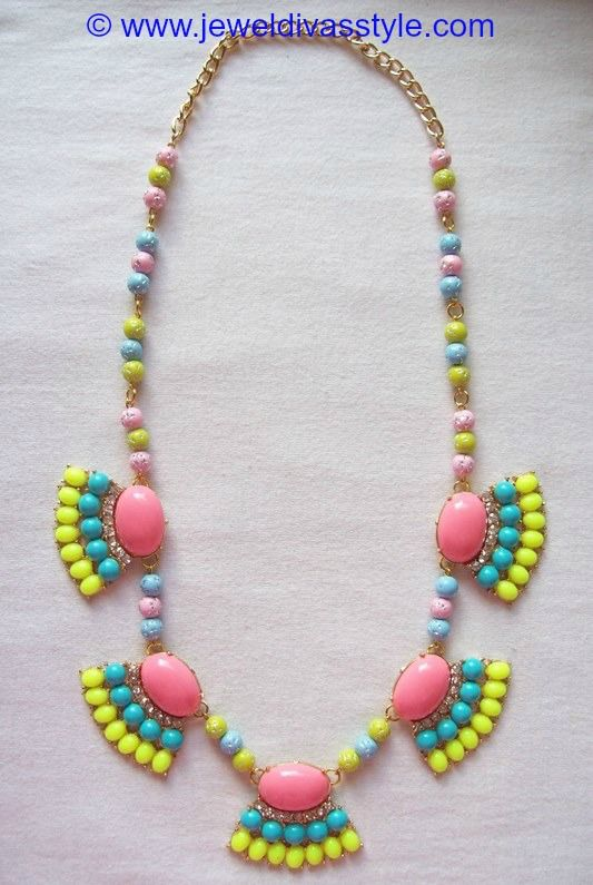 JDS - JEWEL DIVAS BUBBLE NECKLACE - http://jeweldivasstyle.com/my-personal-collection-ebay-necklaces-i-bought-and-remade-the-jewel-divas-way/