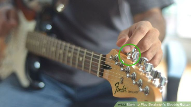 How to Play Beginner's Electric Guitar: 9 Steps (with Pictures)