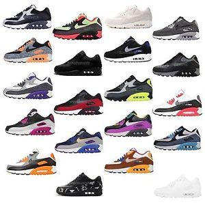 Nike Air Max 90 esenciales / Ltr Para Hombre Running Shoes Zapatillas formadores Pick 1