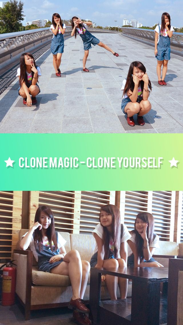Clone Magic on App Store:   FREE for limited time! Do you want to make a photo where many of you appear? It's now very fast and easy with Clone Magic. Instruction...  Developer: TIEN NGUYEN VAN  Download at http://ift.tt/1RjDSsh