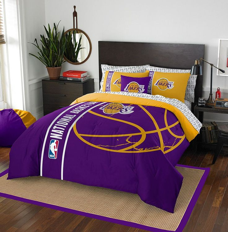 Soft U0026 Cozy Los Angeles Lakers Bed In A Bag